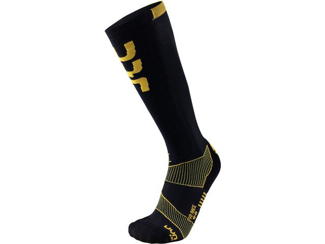 UYN Evo Race Skarpety narciarskie Mężczyźni, black/yellow